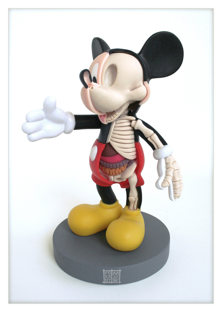 Mickey Mouse d�coup�