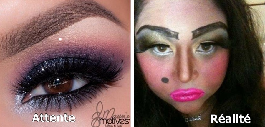 maquillage coloré