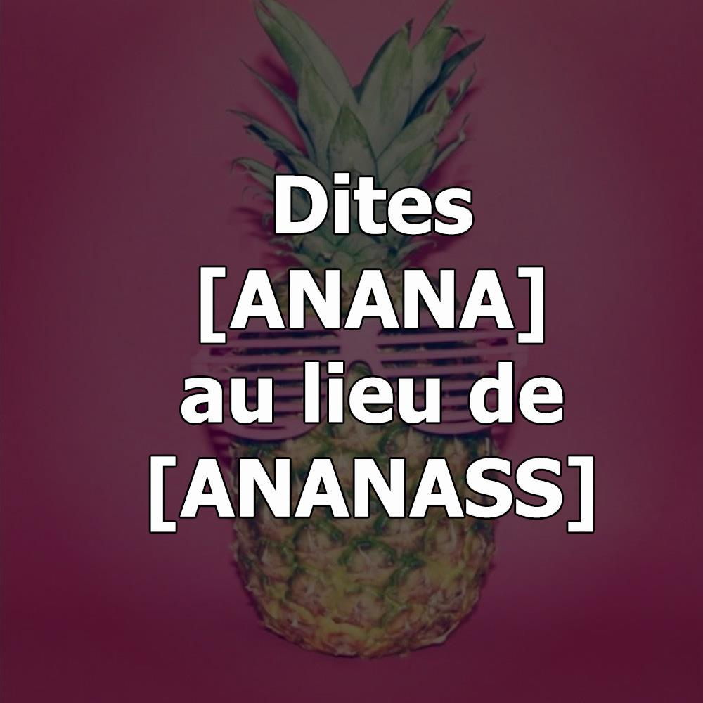 ananas swag lunette soleil